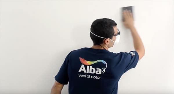 Preparando paredes